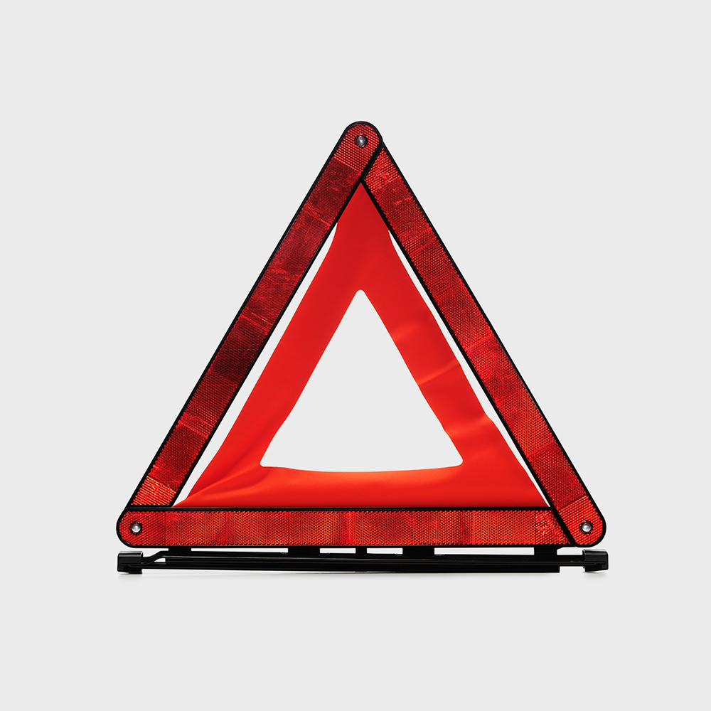 Volvo trucks training safety driving triangle
