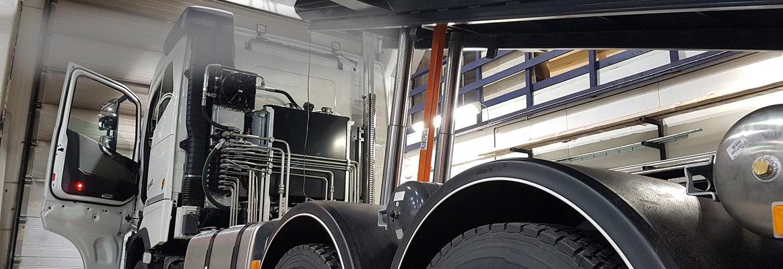 Päällirakennetyöt ja runkotyöt HF-Autohuollosta