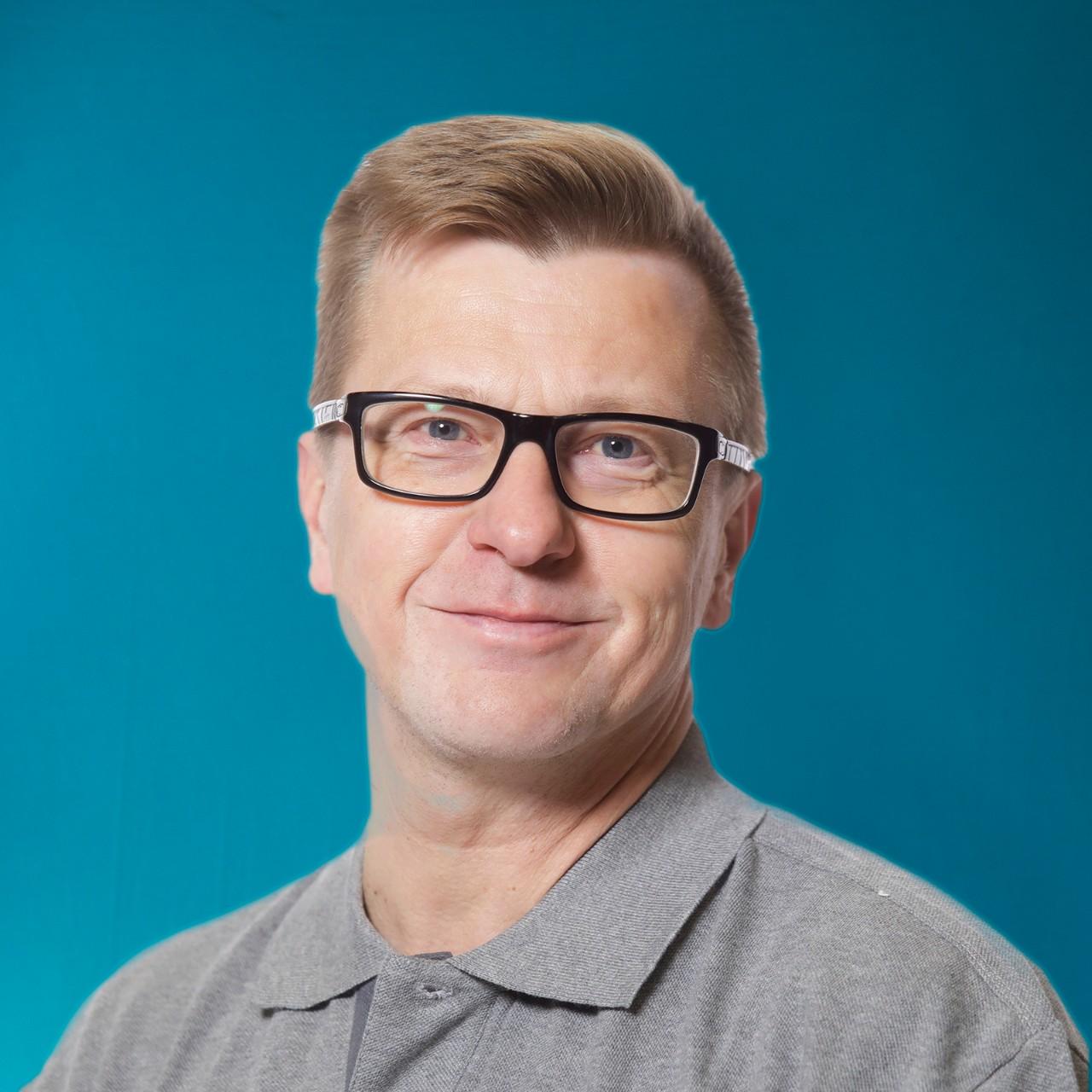 Kuorma-automyyjä Timo Sarjanoja
