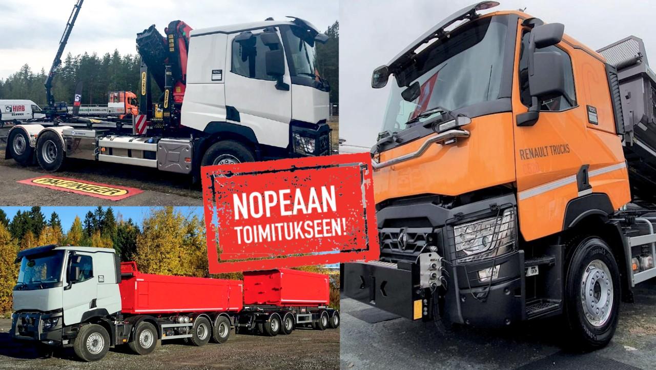 Renault valmiit kuorma-autot