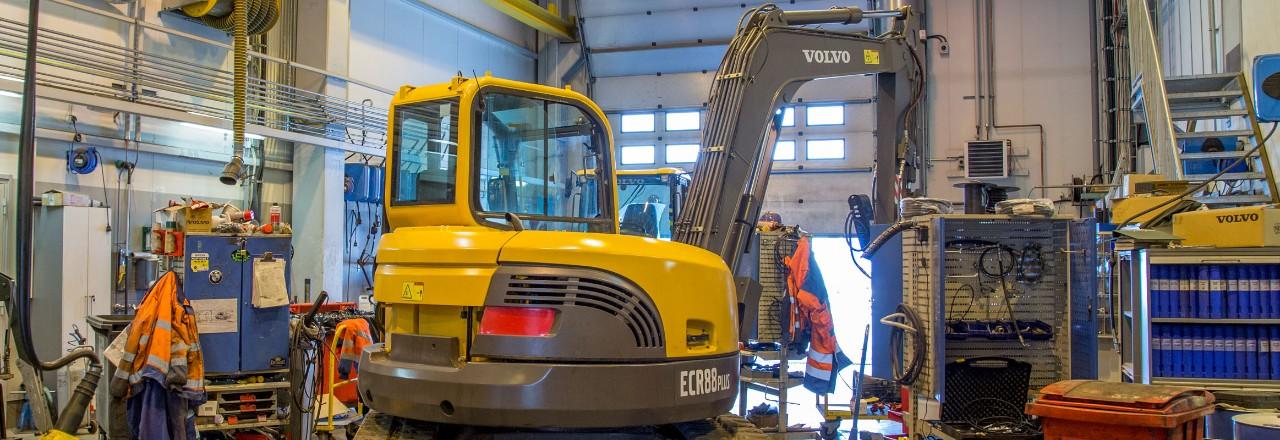Wetteri Power Volvo CE maansiirtokoneiden huolto ja korjaamo